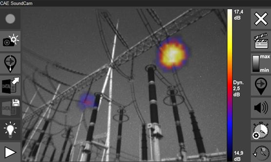 SoundCam Ultra Sensor for integration and automatically detection.